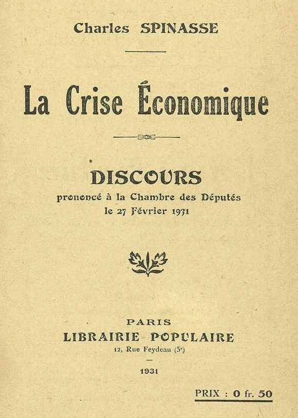 Au temps de la crise des années 1930 : analyses, interprétations et perspectives dans le mouvement ouvrier